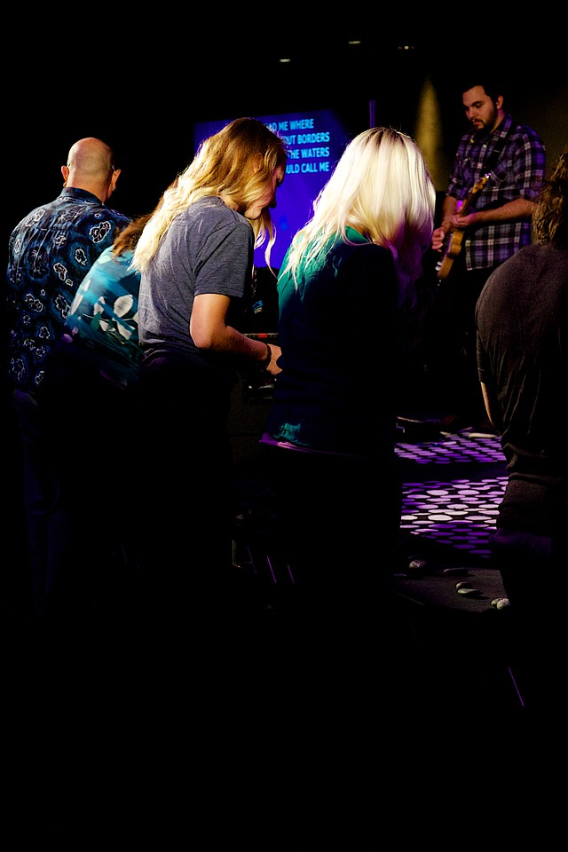 Newport Mesa Regional Ministry Night of Worship at the new Newport-Mesa venue,  Wednesday  January 28, 2015  Photographer: Beth Bremmer