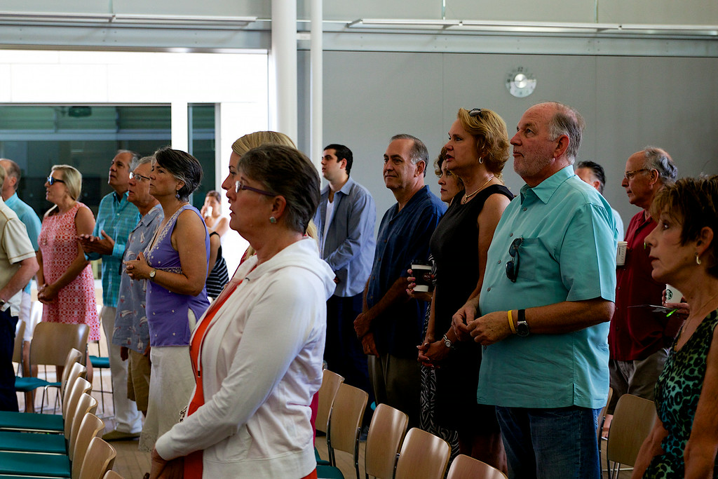 Huntington Beach Regional Ministry Services, Sunday August 17, 2014 at the Civic Center, Newport Beach, Photographer: David Bremmer