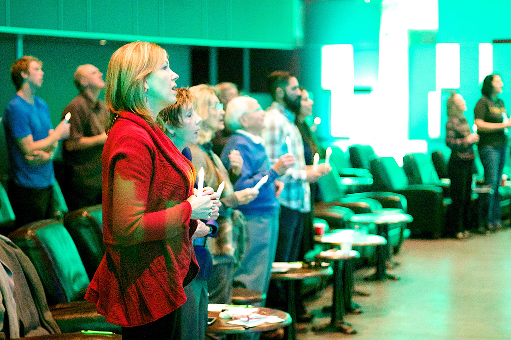 Huntington Beach Regional Ministry Services, Sunday December 14, 2014 at the New Port Theater, Newport Beach, Photographer: David Bremmer