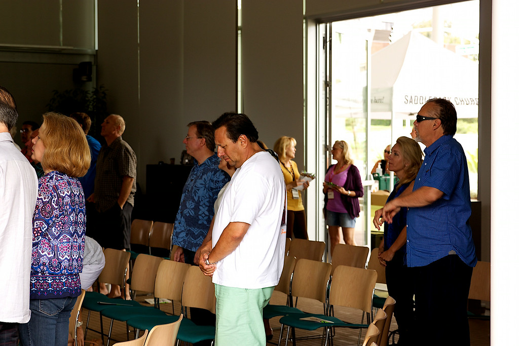 Huntington Beach Regional Ministry Services, Sunday July 20, 2014 at the Civic Center, Newport Beach, Photographer: David Bremmer