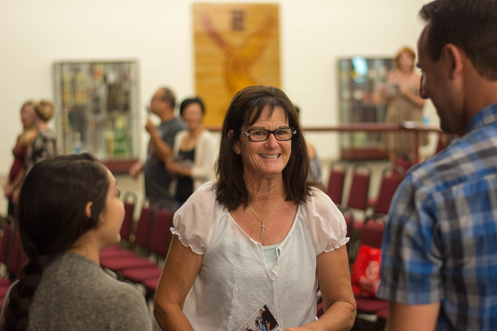 Huntington Beach Regional Ministry, Services on Sunday, September 14, 2014 at Ocean View HS. Photographer: Anthony Schenna